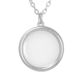 Namaste Silver Plated Necklace