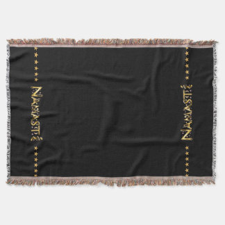 Namasté Throw Blanket