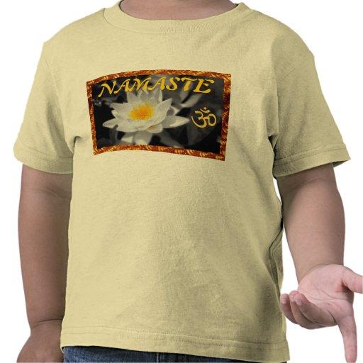 NAMASTE toddler shirt
