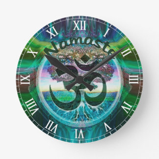 Namaste Tree of Life Clock
