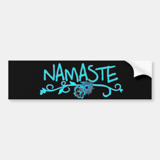 Namaste Yoga Bumper Sticker
