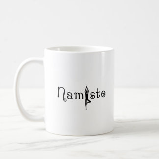 Namaste Yoga Coffee Mug