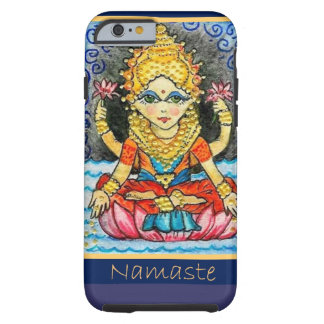Namaste Yoga Girl Tough iPhone 6 Case