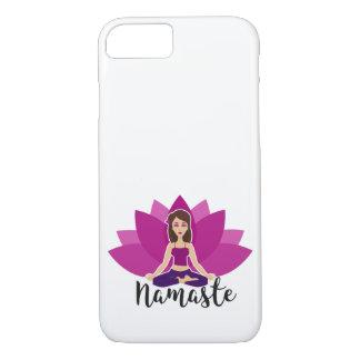 Namaste Yoga iPhone 7 Phone Case