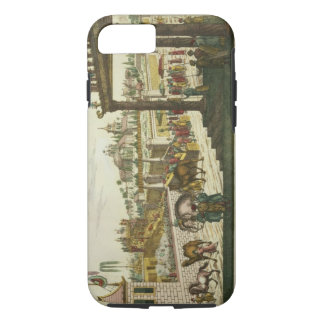 Namchas Place in Lahore, showing the golden throne iPhone 7 Case