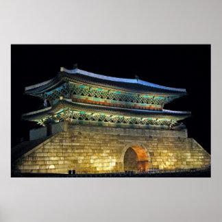 Namdaemun Gate Seoul Posters