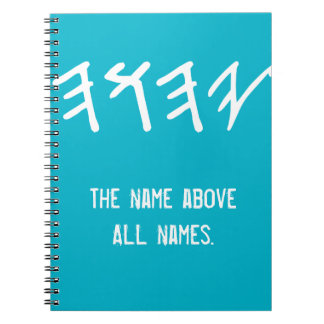 Name Above All Names Notebook