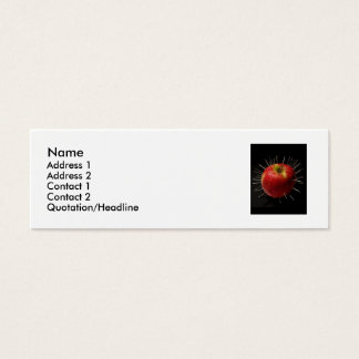 Name, Address 1, Address 2, C... Mini Business Card