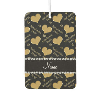 Name black gold hearts bachelorette party