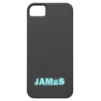 Name,Blue,Black iPhone5 Case