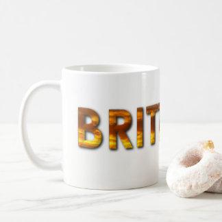 Name Brittany With Sunrise Image Coffee Mug