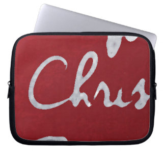 Name_CHRIS_funda _10 Laptop Sleeve