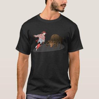 NAME: Clown and Bull 1-No-Text T-Shirt