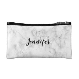 NAME Cosmetic Bag   MARBLE Minimalist + Modern