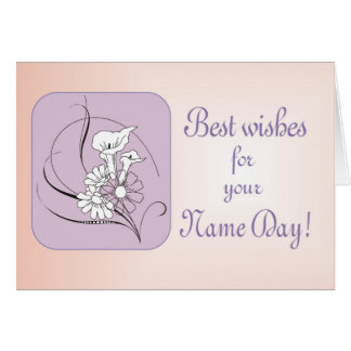 Name Day Best Wishes Card