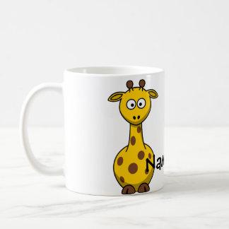 Name Giraffe Basic White Mug