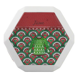 Name green ugly christmas sweater half circles