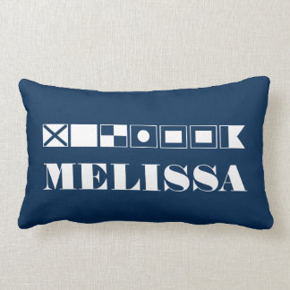 Name In Flags Pillow