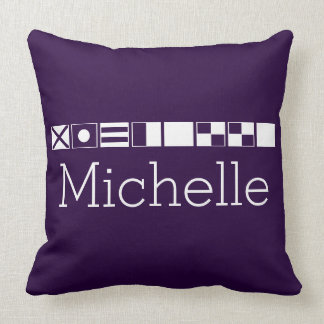 Name In Flags Pillows