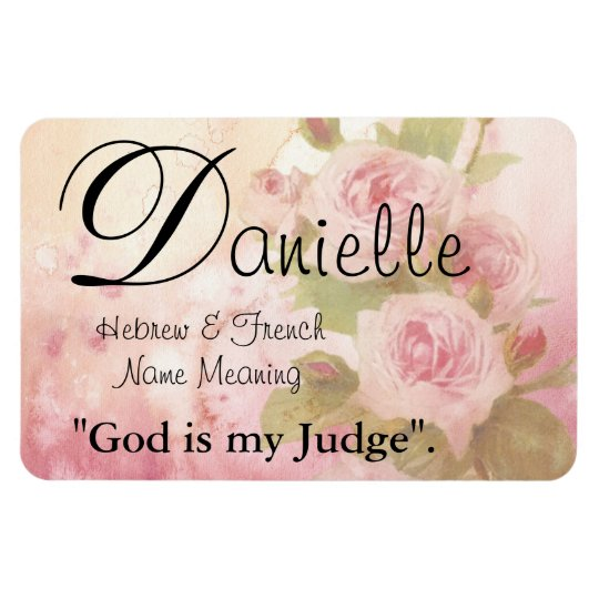 10++ What is the meaning of danielle name info