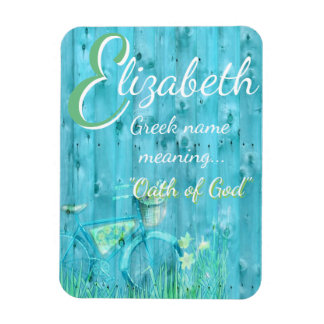 Name Meaning Magnet: Elizabeth, Oath of God Magnet