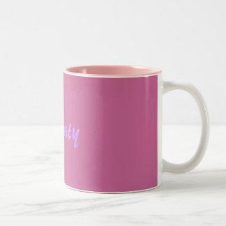 Name Mug-Christy Two-Tone Mug
