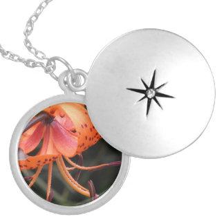 Name Necklace - Orange Lily
