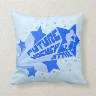 Name & Number Future Hockey Star Pillow