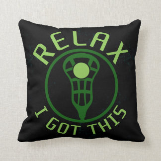 Name & Number Print Custom Lacrosse ReLAX Pillow