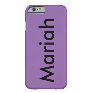 Name phone case. barely there iPhone 6 case