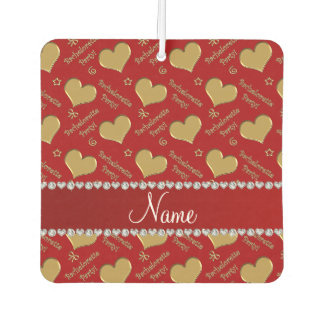 Name red gold hearts bachelorette party