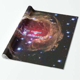 Name, Red Supergiant Star Monocerotis, Outer Space Wrapping Paper