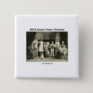 Name Tag Adams Reunion 15 Cm Square Badge