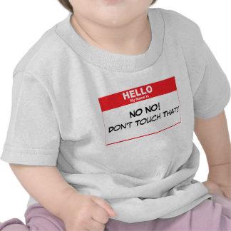 Name Tag Humor Shirt