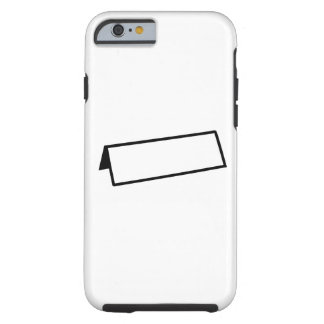 Name tag tough iPhone 6 case
