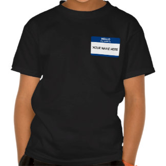 Name Tag T Shirts