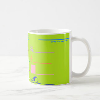 'Name The Pictures' Activity Coffee Mug