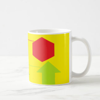 Name The Shapes Activity' Coffee Mug '