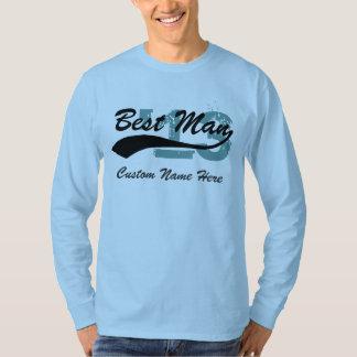 Name & Year Best Man T-Shirt