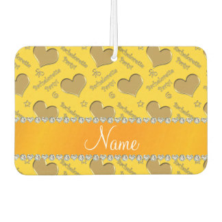 Name yellow gold hearts bachelorette party