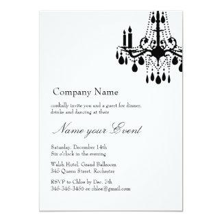 Name your Event White Grand Ballroom 13 Cm X 18 Cm Invitation Card