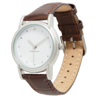 Name Your Ladies Watch Brown