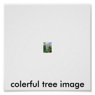 Name Your Print colerful tree image