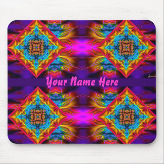Name your Psychedelic Kaleidoscope Mousepad