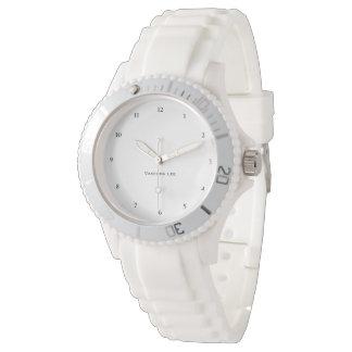 Name Your Sporty White Wristwatch