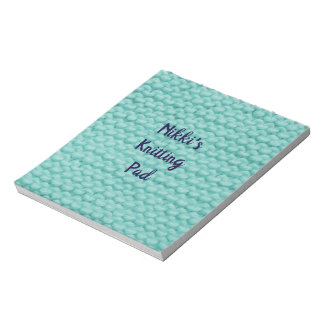 Named Knitting Pad