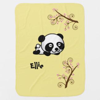 Named Panda Blanket