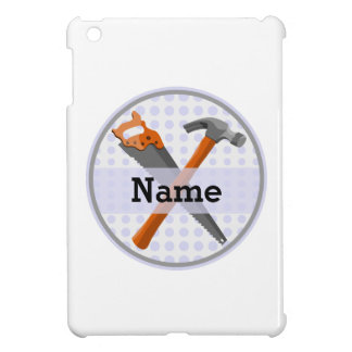Named Personalized Tools design for boys. iPad Mini Cover