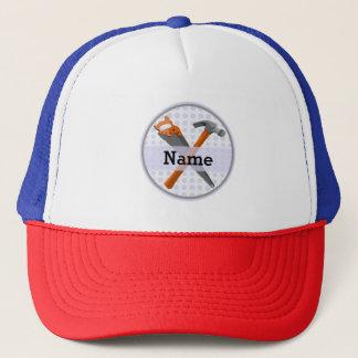 Named Personalized Tools design for boys. Trucker Hat