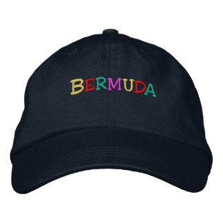 Namedrop Nation_Bermuda multi-colored Embroidered Hats